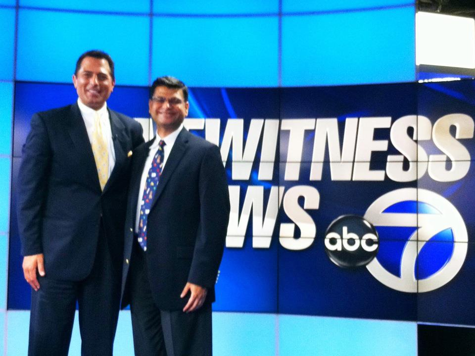 Dr. Shah on ABC New York.