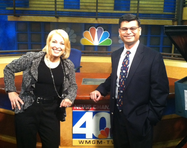 Dr. Shah on NBC New York.